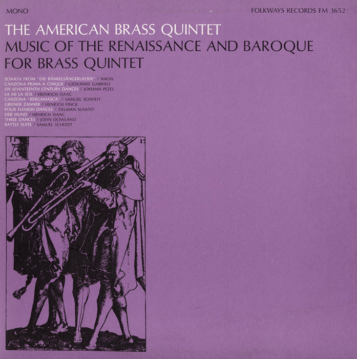 Music of the Renaissance and Baroque for Brass Quintet