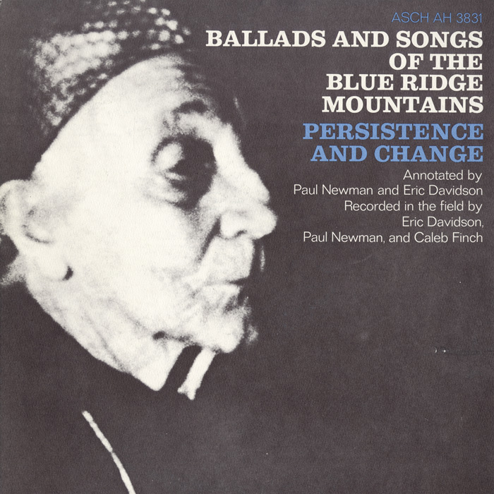 Ballads and Songs of the Blue Ridge Mountains: Persistence and Change