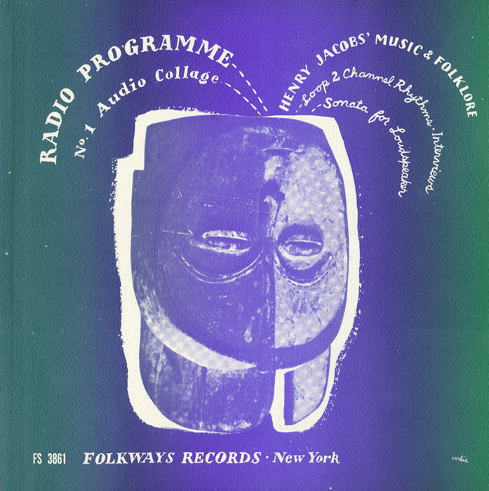 """Radio Programme, No. 1: Henry Jacobs' """"Music and Folklore"""""""
