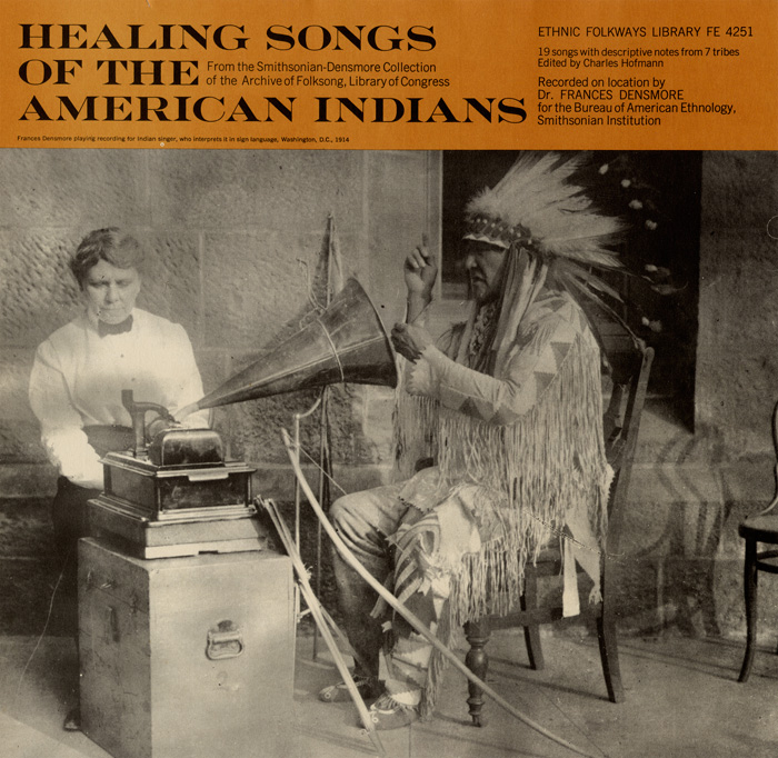 Album Cover: Healing Songs of the American Indians