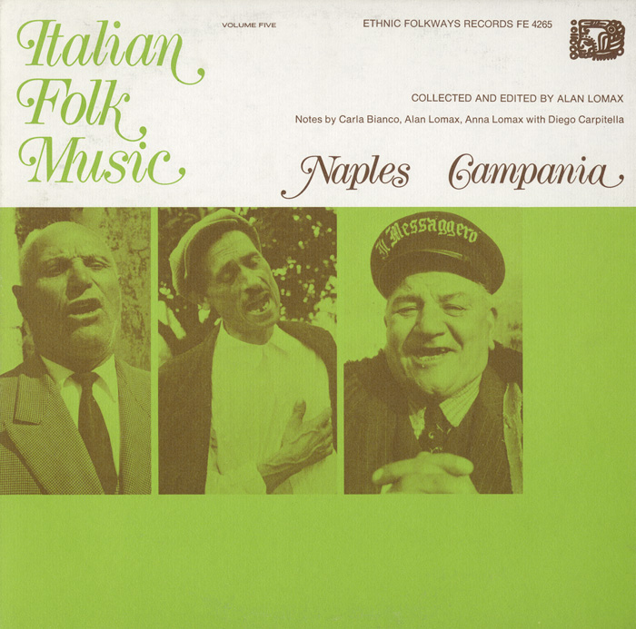 Italian Folk Music, Vol.5: Naples and Campania