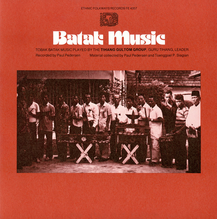 Batak Music: Tobak Batak Music Played by the Tihang Gultom Group