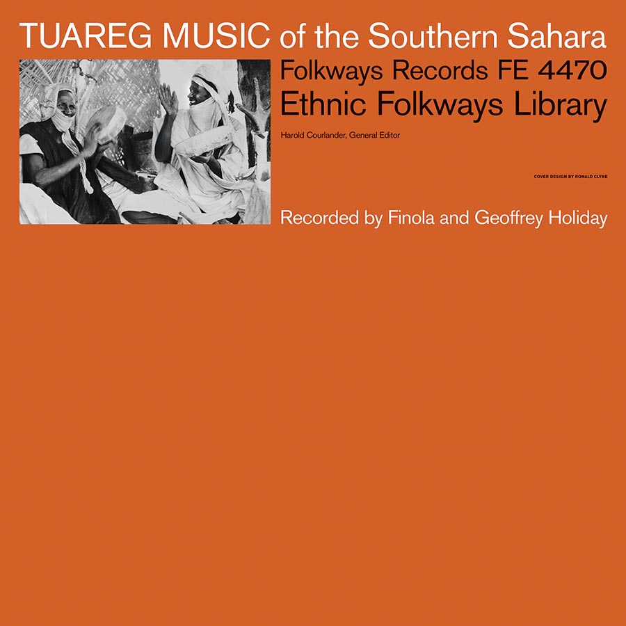 Tuareg Music of the Southern Sahara album cover