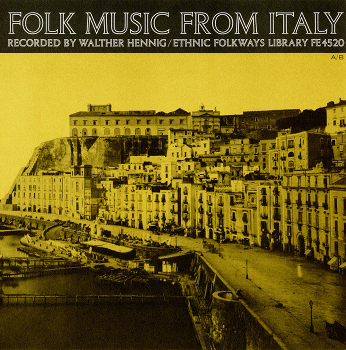 Folk Music from Italy