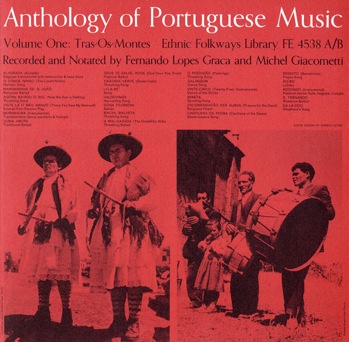 Anthology Of Portuguese Music Vol 1 Tras Os Montes And Vol 2