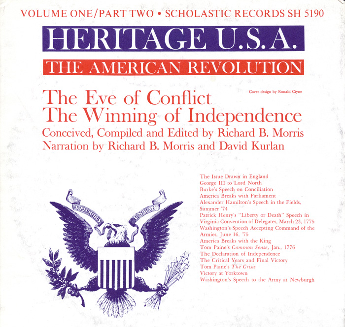 Heritage USA, Vol. 1, Part 2: The American Revolution