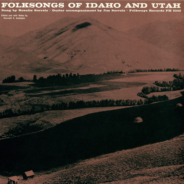Folk Songs of Idaho and Utah
