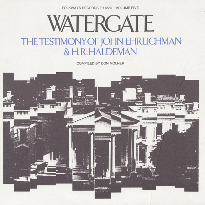 Watergate, Vol.5: The Testimony of John Ehrlichman & H. R. Haldeman