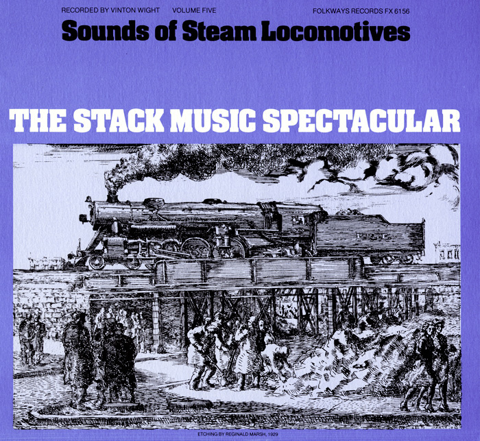 Sounds of Steam Locomotives, No. 5: The Stack Music Spectacular