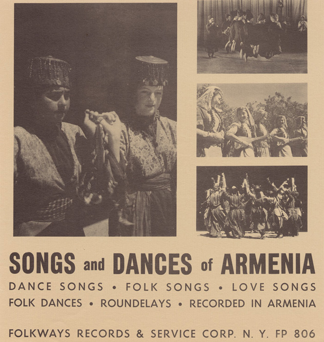 Songs and Dances of Armenia