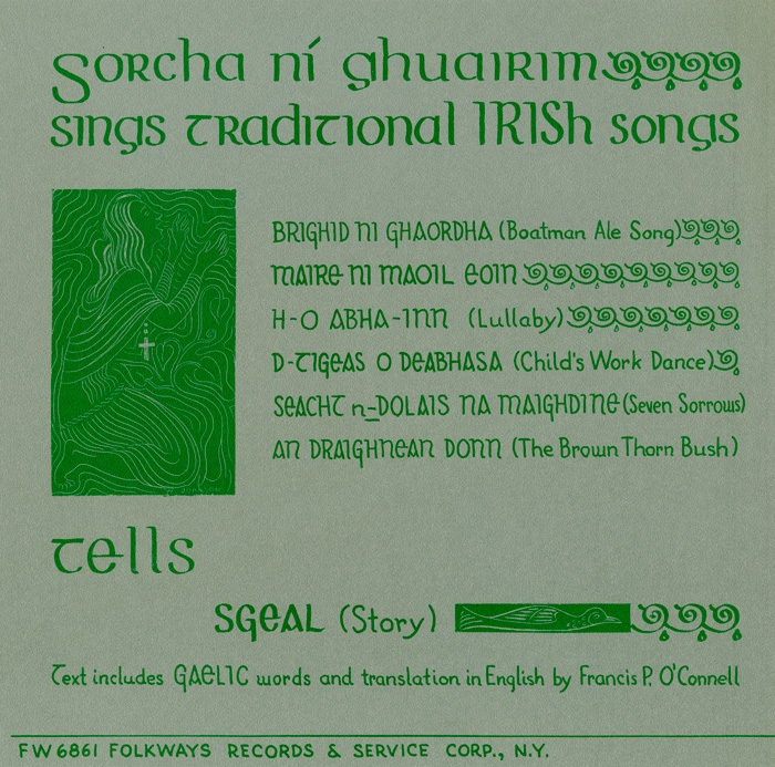 Sorcha Ní Ghuairim Sings Traditional Irish Songs