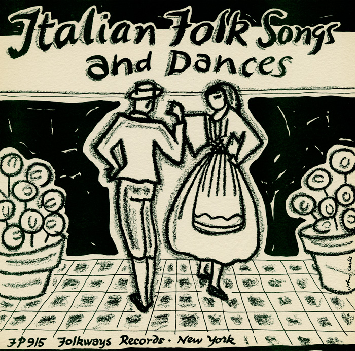 smithsonian folkways italian folk songs and dances