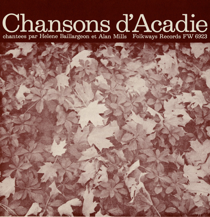 Chansons d'Acadie (Folk Songs of Acadia)