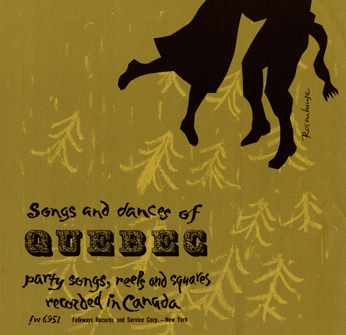 smithsonian folkways songs and dances of quebec