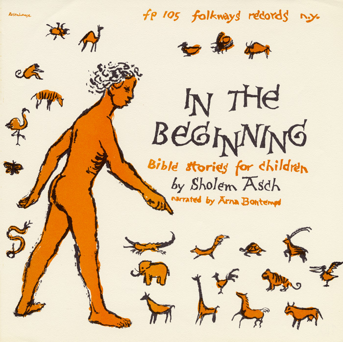 In the Beginning: Bible Stories for Children by Sholem Asch