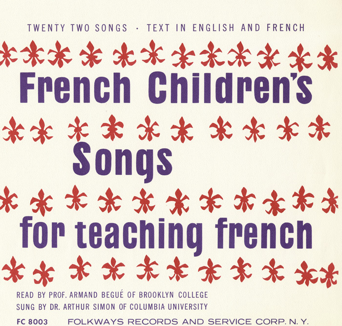 French Children's Songs for Teaching French