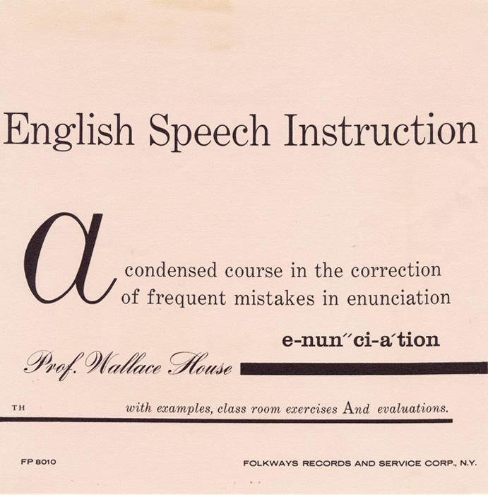 Sounds of Spoken English: English Speech Instruction