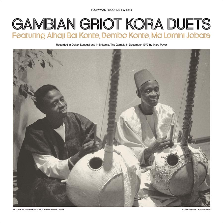 Gambian Griot Kora Duets album cover