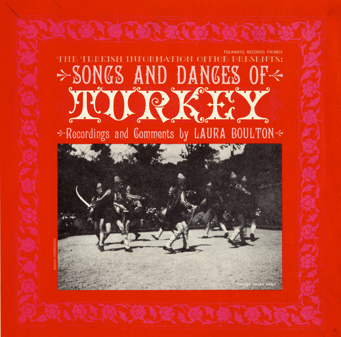 smithsonian folkways songs and dances of turkey
