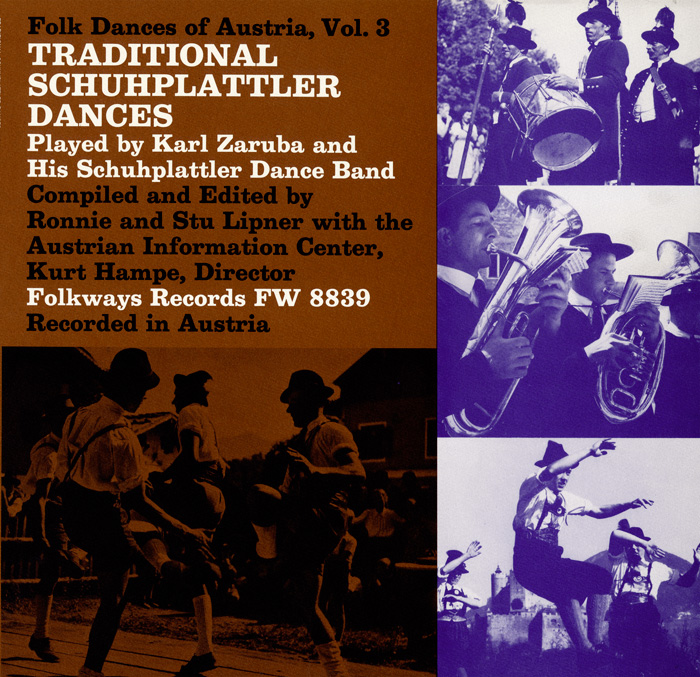 Folk Dances of Austria, Vol. 3: Traditional Schuhplattler Dances