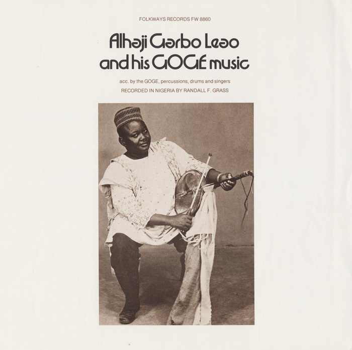 Alhaji Garbo Leao and His Goge Music