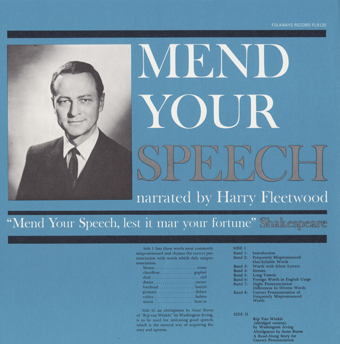 Mend Your Speech