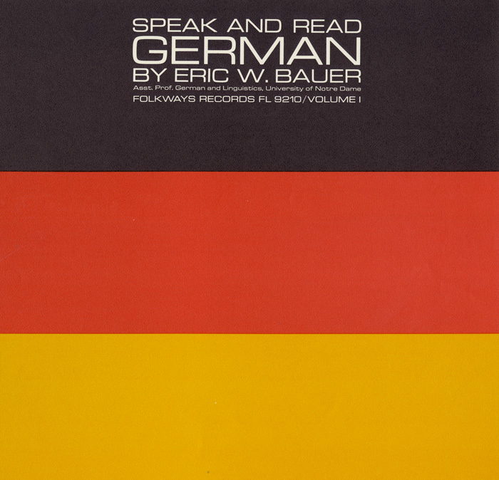 Speak and Read German, Vol. 1