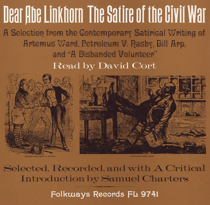 Dear Abe Linkhorn: The Satire of the Civil War