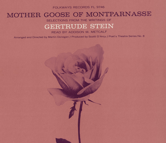 Mother Goose of Montparnasse: Selections from the Writings of Gertrude Stein