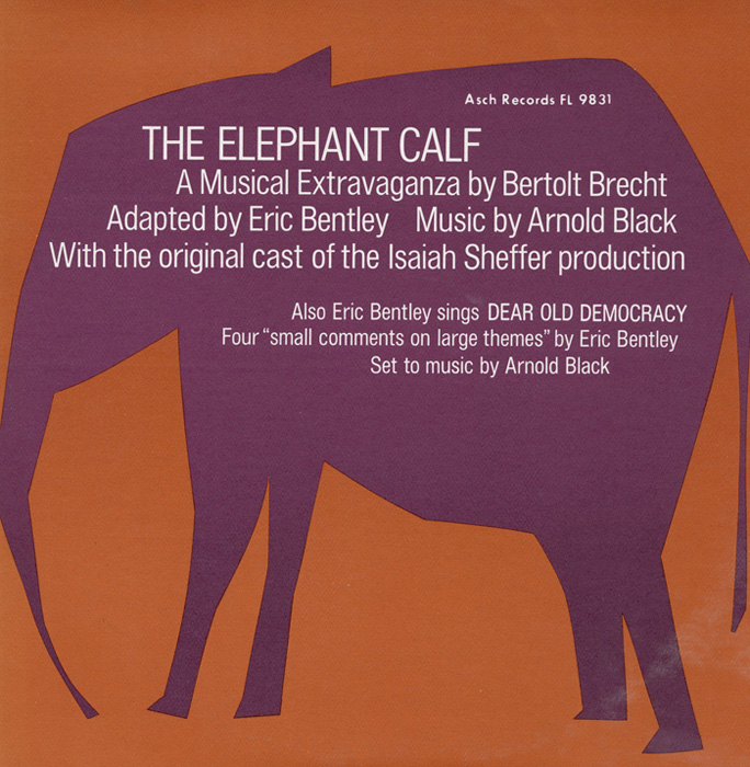 The Elephant Calf and Small Comments on Large Themes