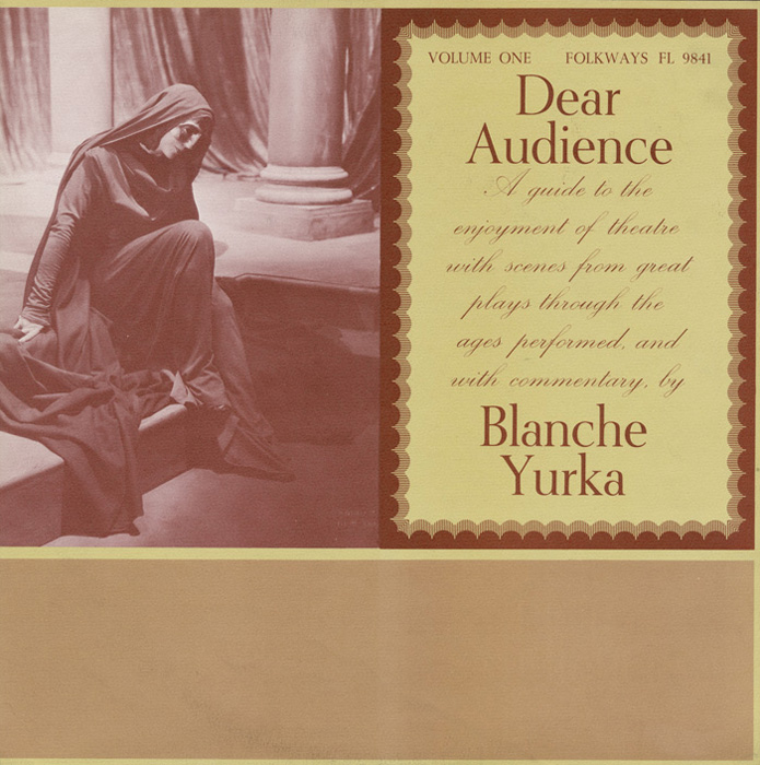 Dear Audience, Vol. 1: A Guide to the Enjoyment of Theater with Scenes from Great Plays through the Ages