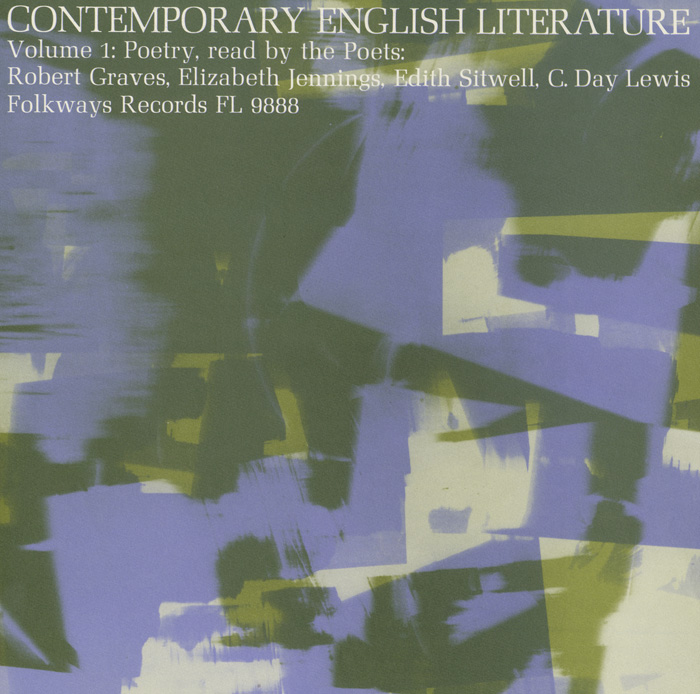 Contemporary English Literature, Vol. 1: Poetry of Robert Graves, Elizabeth Jennings, Edith Sitwell, C. Day Lewis