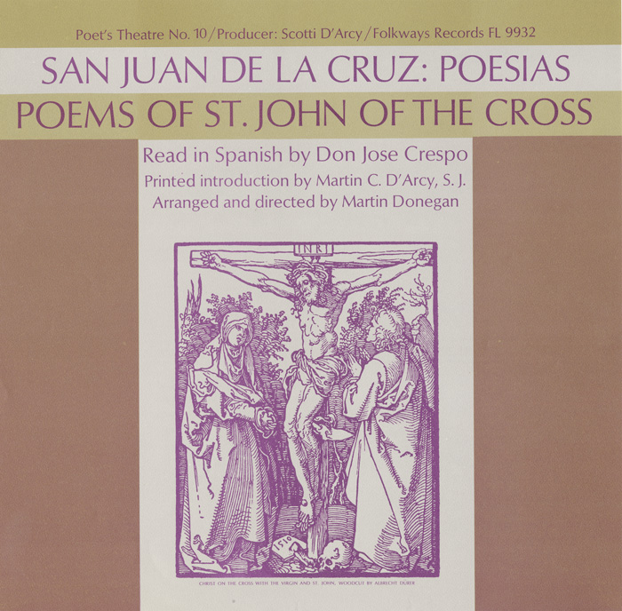 San Juan de la Cruz: Poesias - Vol. I: Read in Spanish by Don Jose Crespo
