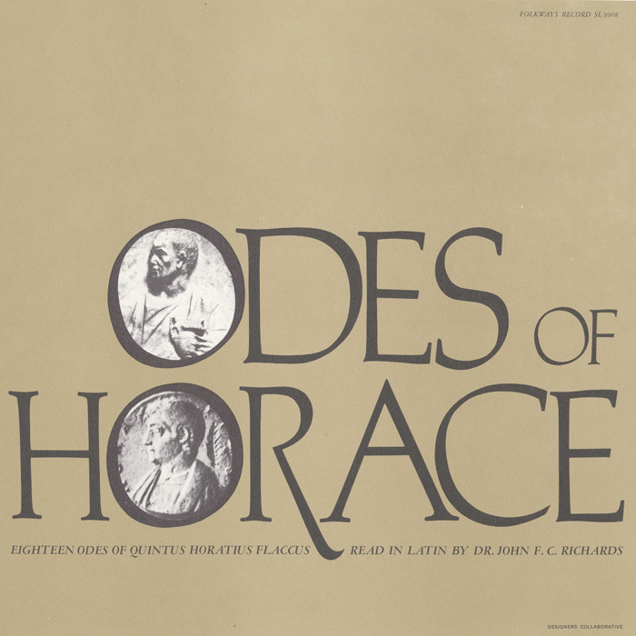 The Odes of Horace - Eighteen Odes of Quintus Horatius Flaccus: Read in Latin by Dr. John F.C. Richards