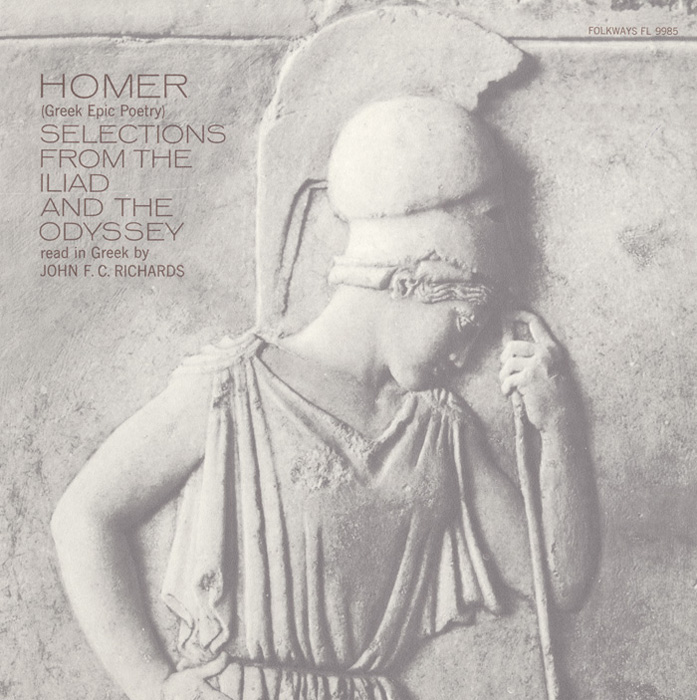 Homer - Greek Epic Poetry: Read in Greek by John F.C. Richards