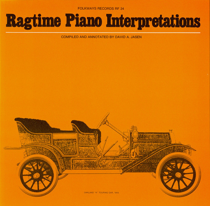 Ragtime Piano Interpretations