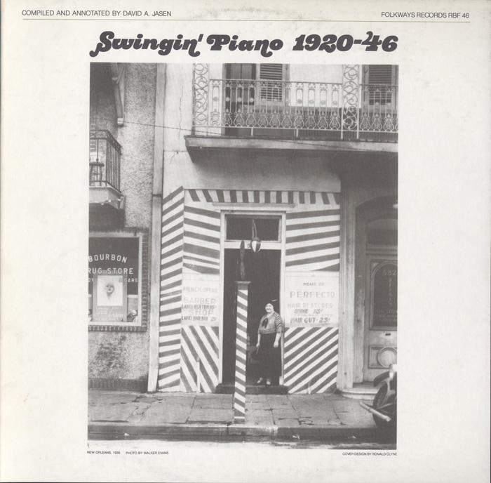 Swingin' Piano 1920-46