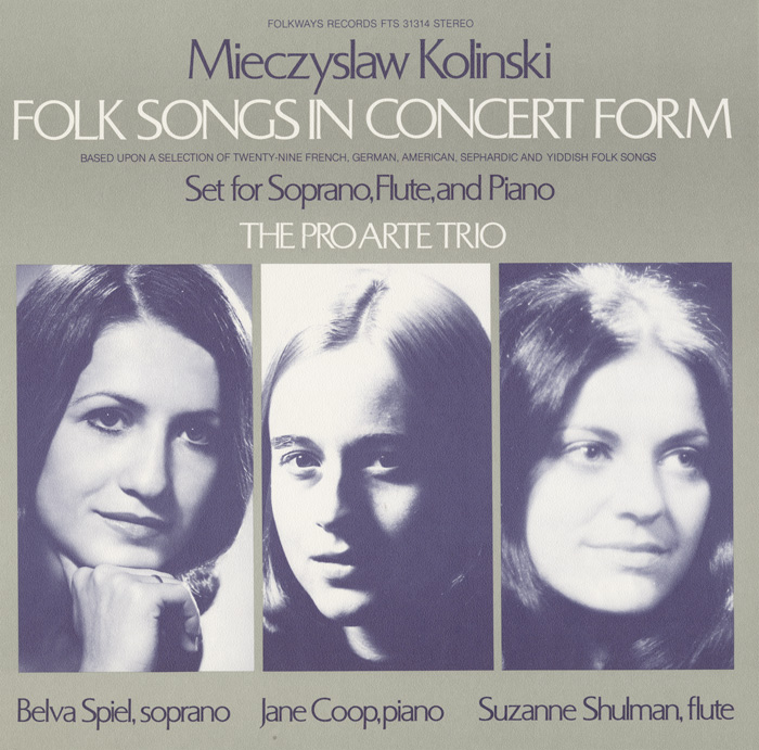 Folk Songs in Concert Form