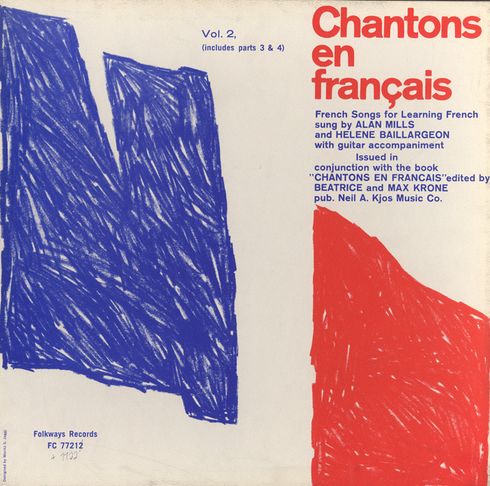 Chantons en Français, Vol. 2 (Includes Parts 3 and 4): French Songs for Learning French