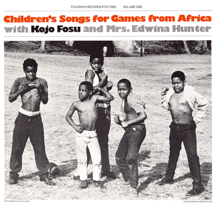 Children's Songs for Games from Africa: With Kojo Fosu and Edwina Hunter