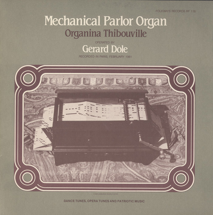 Mechanical Parlor Organ - Organina Thibouville