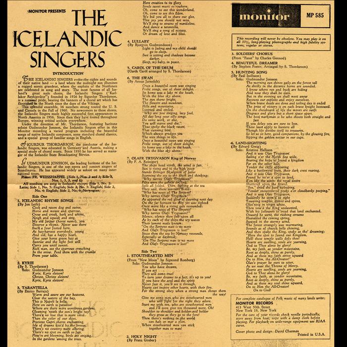 The Icelandic Singers