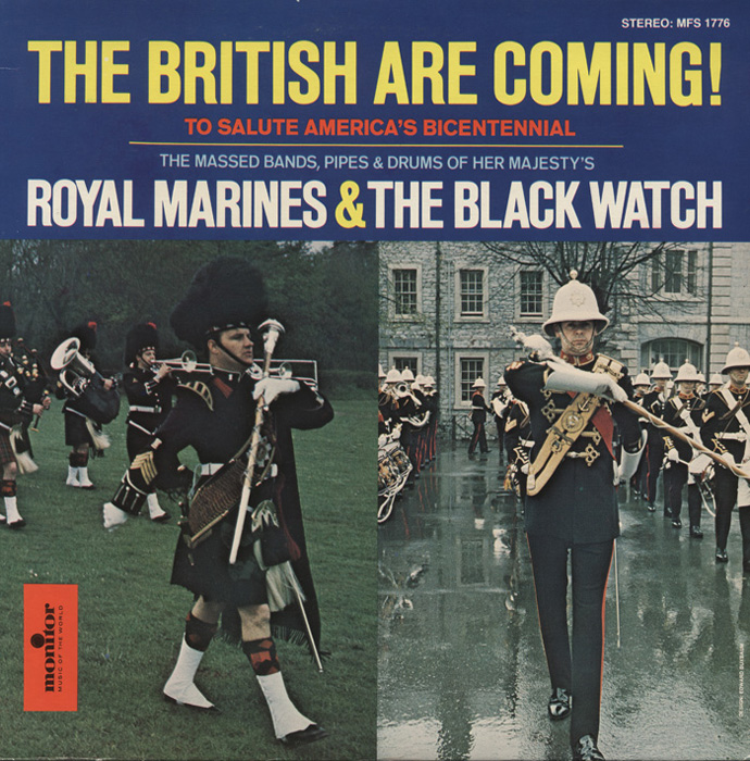 The British Are Coming! To Salute America's Bicentennial