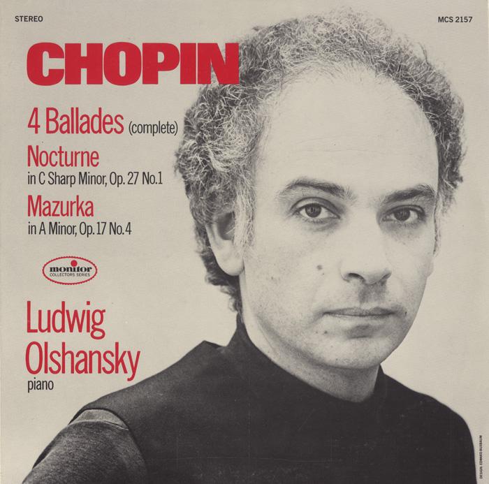 Chopin: 4 Ballades; Nocturne, Op. 27 No. 1; Mazurka, Op. 17 No. 4