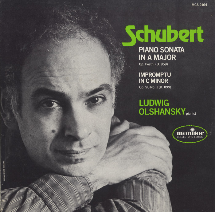 Schubert: Piano Sonata in A Major, Op. Posth. (D. 959); Impromptu in C Minor, Op. 90 (D. 899)