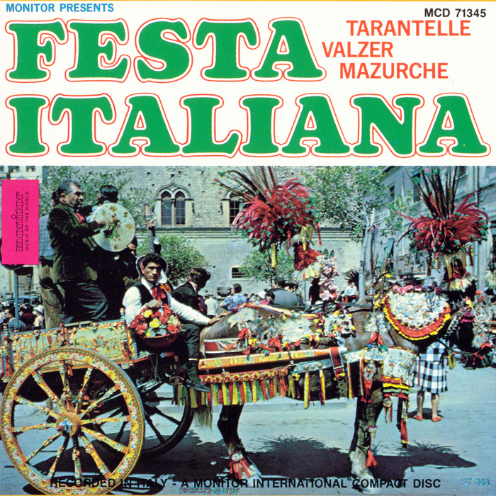 Festa Italiana: Songs and Dances