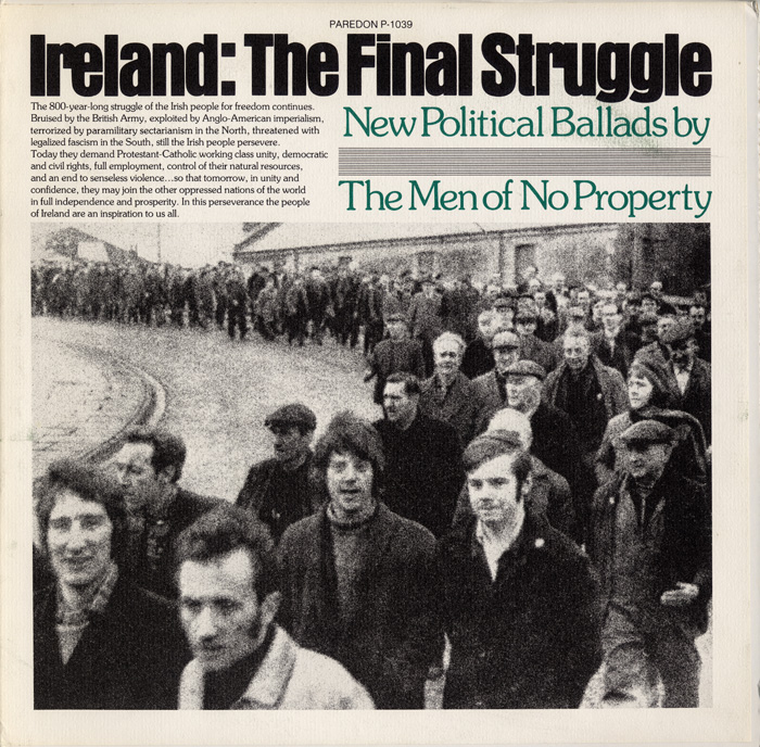 Ireland: The Final Struggle album cover, 1977