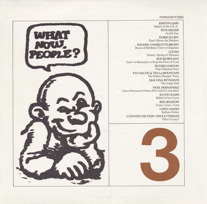 What Now People?, Vol. 3