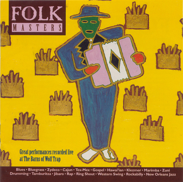 Folk Masters: Great Performances Recorded Live at the Barns of Wolf Trap album cover