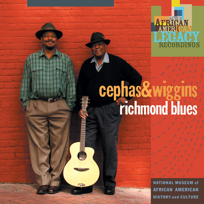 Richmond Blues by Cephas and Wiggins album cover